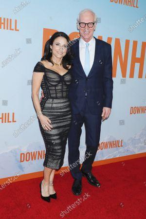 Stock Image of Brad Hall and Julia Louis-Dreyfus