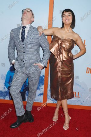 Stock Picture of Jim Rash and Zoe Chao