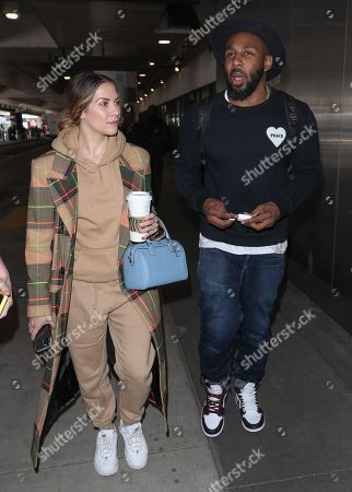 Stock Picture of Allison Holker and Stephen Boss