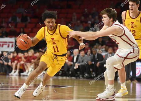 Editorial photo of Iowa St Oklahoma Basketball, Norman, USA - 12 Feb 2020