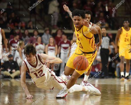Editorial image of Iowa St Oklahoma Basketball, Norman, USA - 12 Feb 2020