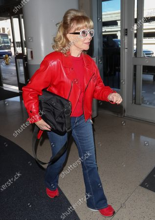 Editorial picture of Barbara Eden at Los Angeles International Airport, USA - 12 Feb 2020