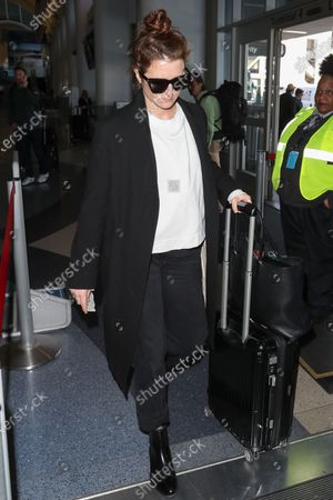 Editorial photo of Grace Gummer at Los Angeles International Airport, USA - 12 Feb 2020
