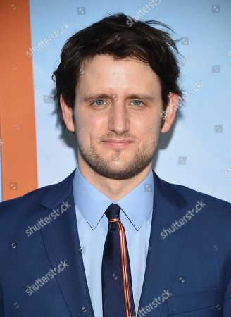 """Zach Woods attends the premiere of """"Downhill"""" at the SVA Theatre on, in New York"""