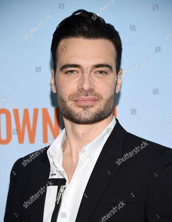 "Giulio Berruti attends the premiere of ""Downhill"" at the SVA Theatre on, in New York"