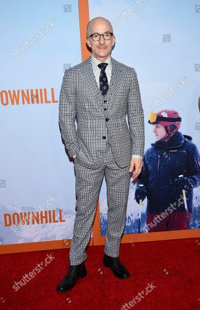 """Jim Rash attends the premiere of """"Downhill"""" at the SVA Theatre on, in New York"""