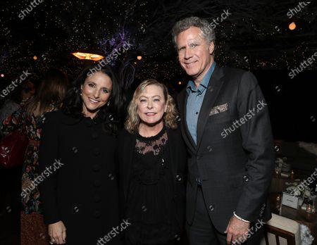 Stock Photo of Julia Louis-Dreyfus, Searchlight Pictures Chairman Nancy Utley and Will Ferrell