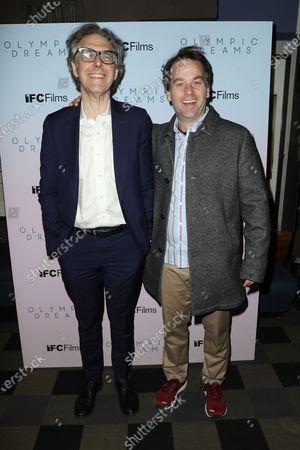 Stock Picture of Ira Glass and Mike Birbiglia