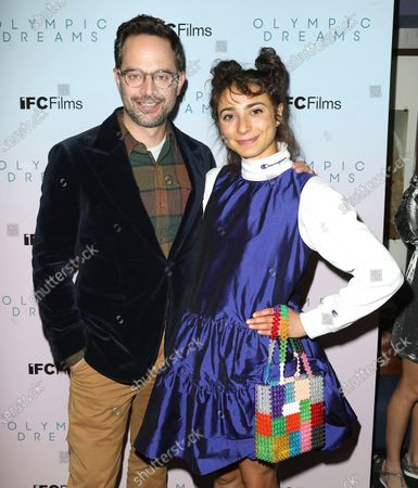 Nick Kroll and Alexi Pappas