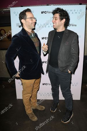 Stock Image of Nick Kroll and Jeremy Teicher