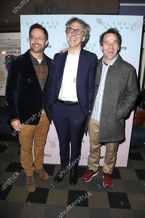 Stock Picture of Nick Kroll, Ira Glass and Mike Birbiglia