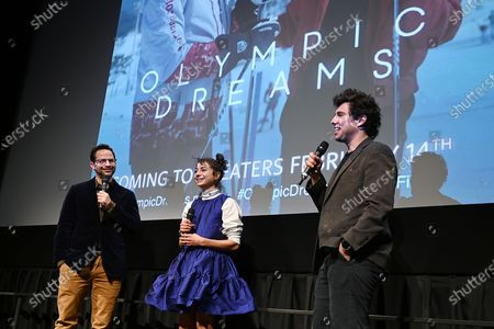 Editorial photo of New York Special Screening of 'Olympic Dreams', New York, USA - 12 Feb 2020
