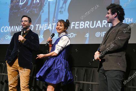 Nick Kroll, Alexi Pappas and Jeremy Teicher