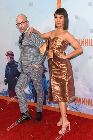Jim Rash and Zoe Chao