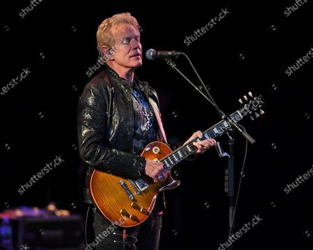 Editorial image of Don Felder in concert at The Parker Playhouse, Fort Lauderdale, USA - 12 Feb 2020