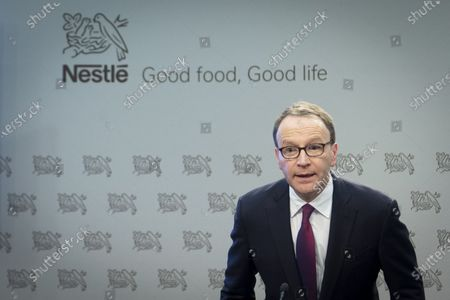 Editorial image of Nestle reports 2019 full-year results, Vevey, Switzerland - 13 Feb 2020