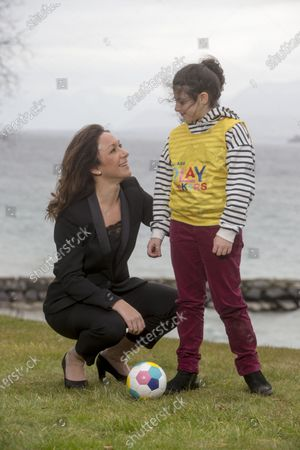 Editorial photo of UEFA and Disney launch initiative to help more girls play football through Playmakers, Nyon, Switzerland - 11 Feb 2020