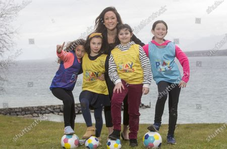 Editorial picture of UEFA and Disney launch initiative to help more girls play football through Playmakers, Nyon, Switzerland - 11 Feb 2020