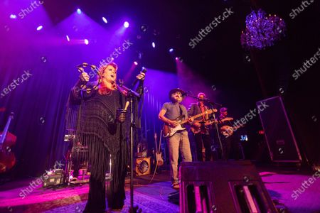 Editorial photo of Wynonna and The Big Noise with Bob Weir in concert at The Fillmore, San Francisco, USA - 06 Feb 2020