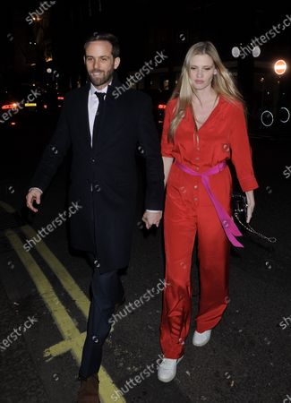 Stock Picture of David Grievson and Lara Stone