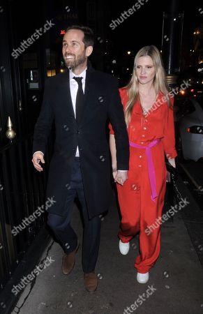 Stock Photo of David Grievson and Lara Stone