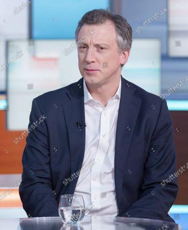 Editorial photo of 'Good Morning Britain' TV show, London, UK - 13 Feb 2020