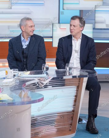 Stock Picture of Kevin Maguire and Tom Newton Dunn