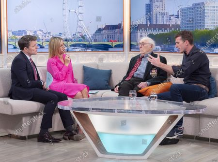 Stock Image of Ben Shephard and Kate Garraway with Victor Gregg and Dan Snow