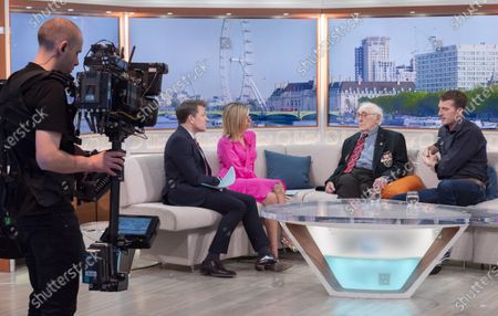 Ben Shephard and Kate Garraway with Victor Gregg and Dan Snow
