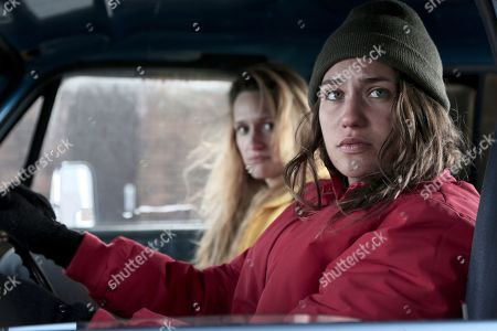 Stock Picture of Breeda Wool as Rayna and Lola Kirke as Joey