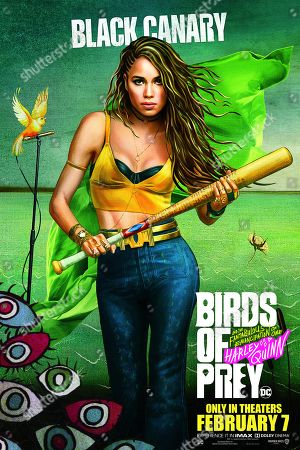 Birds of Prey: And the Fantabulous Emancipation of One Harley Quinn (2020) Poster Art. Jurnee Smollett-Bell as Dinah Lance/Black Canary