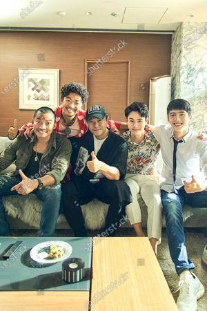 Tony Jaa as Jack Jaa, Baoqiang Wang asTang Ren, Sicheng Chen Director, Shota Sometani and Haoran Liu as Qin Feng