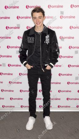 Editorial photo of 'Lorraine' TV show, London, UK - 13 Feb 2020