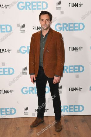 Stephen Campbell Moore attends the Special Screening of Greed in London. Greed releases in UK cinemas on the 21st February