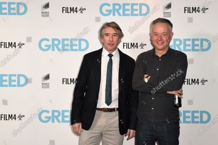 Steve Coogan and Michael Winterbottom attend the Special Screening of Greed in London. Greed releases in UK cinemas on the 21st February