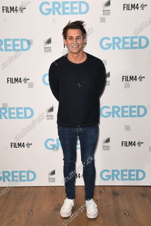 Stock Photo of Ollie Locke attends the Special Screening of Greed in London. Greed releases in UK cinemas on the 21st February