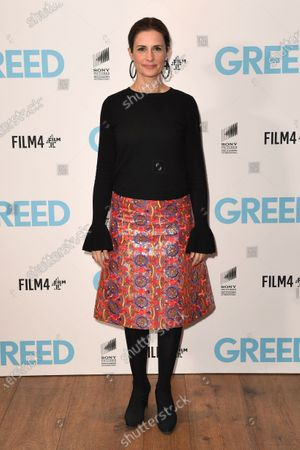 Stock Photo of Livia Giuggioli attends the Special Screening of Greed in London. Greed releases in UK cinemas on the 21st February