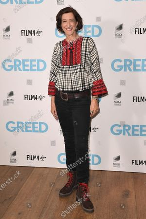 Haydn Gwynne attends the Special Screening of Greed in London. Greed releases in UK cinemas on the 21st February