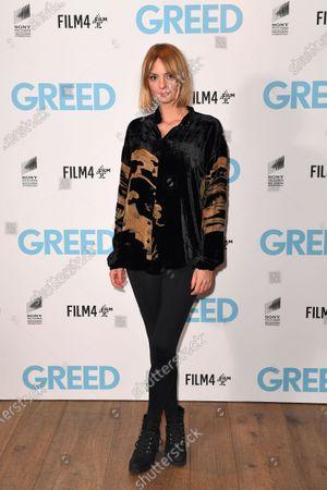 Editorial photo of 'Greed' special film screening, Ham Yard Hotel, London, UK - 13 Feb 2020