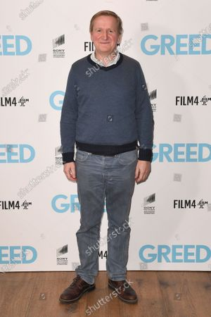 Stock Picture of Matthew Cottle attends the Special Screening of Greed in London. Greed releases in UK cinemas on the 21st February