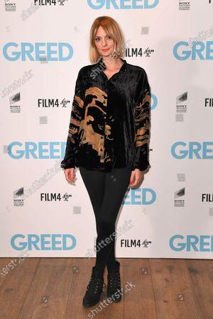 Editorial picture of 'Greed' special film screening, Ham Yard Hotel, London, UK - 13 Feb 2020