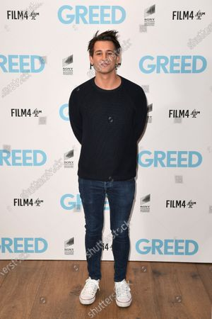 Ollie Locke attends the Special Screening of Greed in London. Greed releases in UK cinemas on the 21st February