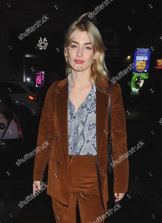 Editorial image of Sydney Lima out and about, London, UK - 12 Feb 2020