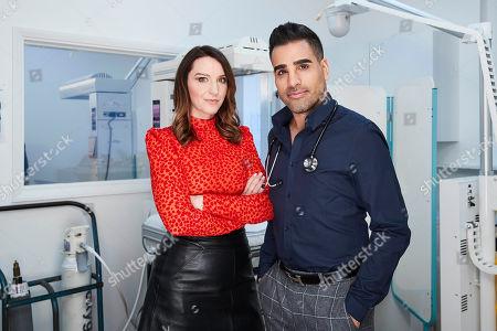 (l-r) Kylie Pentelow and Dr Ranj