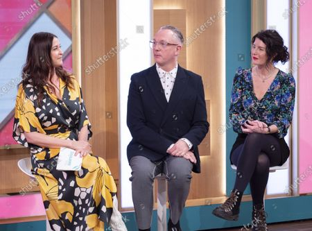 Lisa Snowdon, Josh Wood and Patsy O'Neil