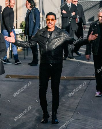 Editorial photo of 'Jimmy Kimmel Live' TV show, Los Angeles, USA - 12 Feb 2020