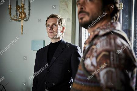 Shaun Evans as Endeavour and Ryan Gage as Ludo.