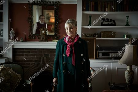 Stock Photo of Carol Royle as Mrs Bright.