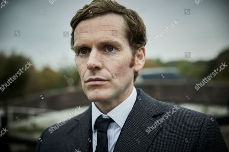 Stock Picture of Shaun Evans as Endeavour.