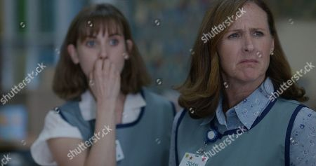 Alison Brie as Sarah and Molly Shannon as Joan